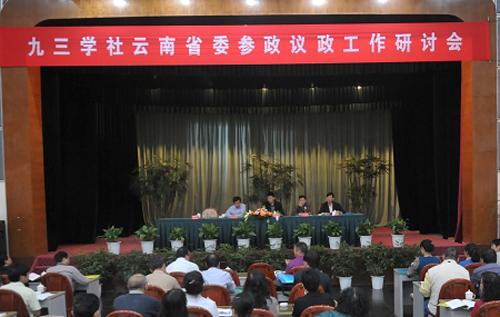 社省委召开参政议政任务研讨会