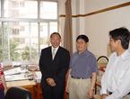 中共云南省委常委、统战部部长罗正富走访社省委构造